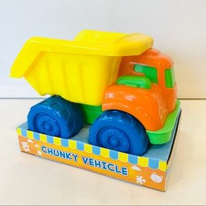 NEW Boley Construction Plastic Toy Truck Toddler